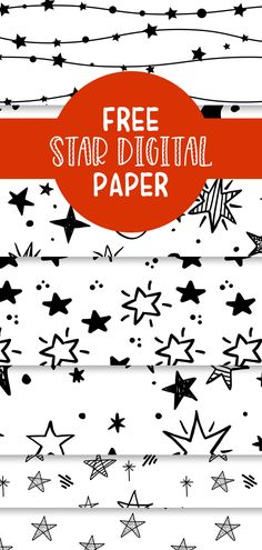 free star digital paper - Free Pretty Things For You Free Star Digital Paper that you can use for all kinds of craft projects! Free Digital Scrapbooking, Digital Scrapbook Paper, Baby Scrapbook, Digital Papers, Printable Star, Printable Paper, Freebies Printable, Free Printables, Free Paper