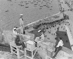 Thessaloniki, World War Macedonia Greece, Athens Greece, Greece Pictures, Old Pictures, Old Time Photos, Greece Photography, Art Photography, Greek History, Thessaloniki