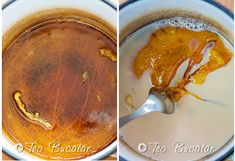 preparare-prajitura-cu-foi-de-zahar-ars-1 Peanut Butter, Food, Essen, Meals, Yemek, Eten, Nut Butter
