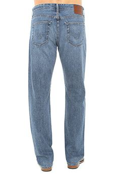 Relaxed Straight Jeans for Men | Loose Fit Jeans | AG Jeans