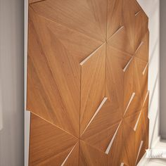 P2 wall panels on Behance