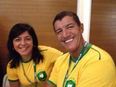 Andreia Naim Finianos e Marco Antonio Pinto de Faria curtindo o Ramo Day!