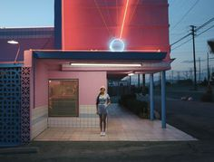 the pink motel, california
