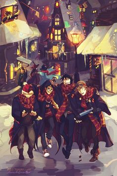 Magical Harry Potter fan art!