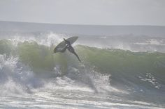 Dillan Lowenthal going big at Elands bay