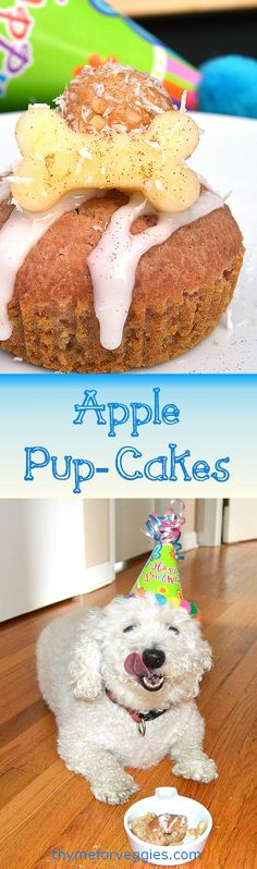 We recently celebrated birthdays with these delicious Apple Pup-Cakes and I though I would share them with all the dog mom and dads. These were a BIG hit! I love baking and cooking for my three little furry loves. But I try to keep it healthy, they are a bit on the larger size. Still, when... #d