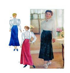 Adult Historical Circa 1910 Style Womens by FindCraftyPatterns