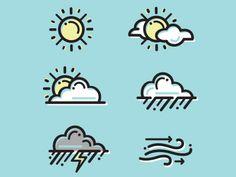 Weathericons 1d