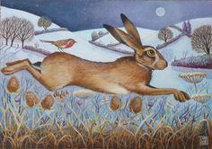 December Hare by Jemima Jameson