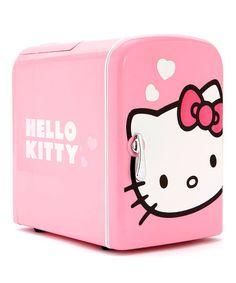 Hello Kitty Mini Refrigerator by Hello Kitty: Kitchen Appliances on #zulily today!