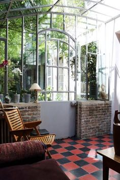 Old veranda canopy - Home & DIY Exterior Design, Interior And Exterior, Pole Barn House Plans, Patio, Beautiful Interiors, Architecture, Interior Design Living Room, My Dream Home, Sweet Home