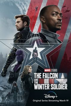 The Falcon and the Winter Soldier Movie Poster Quality Glossy Print Photo Wall Art Disney Marvel Siz
