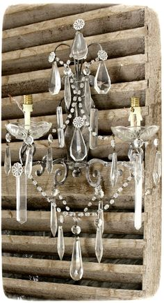 Leuchter – Just another WordPress site Shabby Home, Rustic Cottage, Chandelier, Crystal Chandelier, Vintage, Candle Lanterns, Shutter Wall Decor, Vintage Candles, Vintage Candle Chandelier