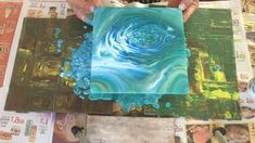 Acrylic Pouring Art - How to make beautiful artwork using an acrylic pouring technique. Fluid art pouring tutorial and marbling technique Acrylic Pouring Art, Acrylic Art, Diy Abstract Art, Painting Abstract, Abstract Painting Techniques, Acrylic Pouring Techniques, Art Techniques, Pour Painting, Painting Canvas