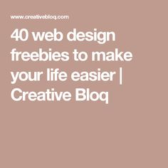 40 web design freebies to make your life easier | Creative Bloq