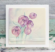 LAYERS OF TRANSPARENT WATERCOLOR – Watercoloring Tulips from WPlus9 – kwernerdesign blog