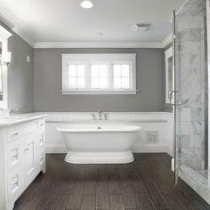 "wood tile bathroom designs | Traditional Bath Photos ""wood Tile"" Design Ideas, Pictures, Remodel ..."