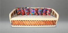 Tarahumara Equipal Sofa Mexican Furniture, New Furniture, Furniture Ideas, Mexican Style, New Homes, Culture, Decorating, Home Decor, Rustic Furniture