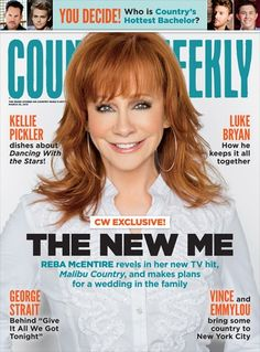 Reba tells Country Weekly she's eager to welcome Kelly Clarkson into the family