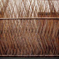 - Wood Architecture, Architecture Details, Hawaii Tiny House, Fade Designs, Weaving Patterns, Humble Abode, Visual Merchandising, Installation Art, Wall Design