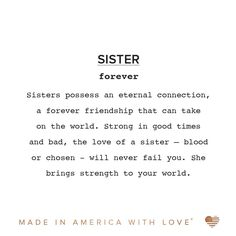 Alex and Ani Sister Expandable Wire Bangle Bracelet - Silver Sister Bond Quotes, Quotes About Sisters, Little Sister Quotes, Sister Poems, Sister Sayings, Sibling Quotes, Daughter Quotes, Mother Quotes, Father Daughter