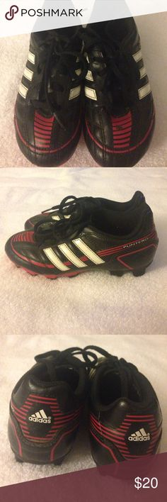 Adidas soccer shoes for boys Adidas puntero soccer shoes for boys size 1 black adidas Shoes Sneakers