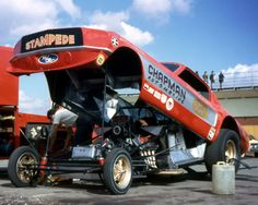 Chapman Automotive Mustang Funny Car