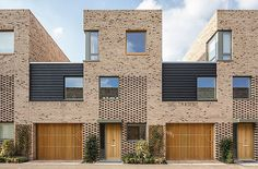 Abode, Great Kneighton, Cambridge by Proctor and Matthews Architects. Extremely well-considered scheme of 300 medium density homes - a testament to the successful working partnership between architects and developer.