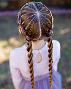 Banded Twist Braid | Cute Girls Hairstyles