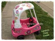 Cozy Coupe Redos On Pinterest Cozy Coupe Cozy Coupe
