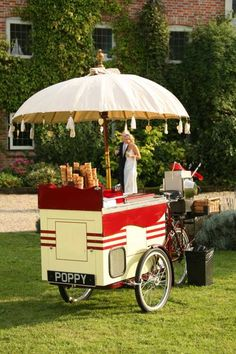 Ice Cream Tricycle - Food & Drink Stalls