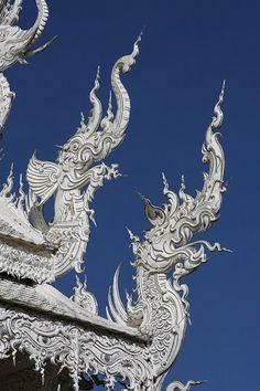 Wat Rong Khun, Chiang Rai. Thailand.