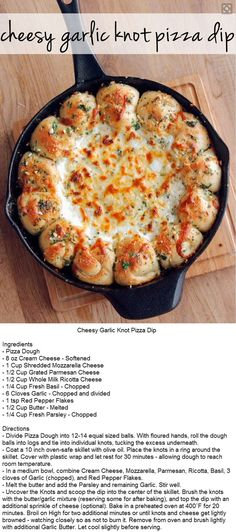 You Will Never Think Of Pizza The Same Way After Trying This Dip You Will Never Think Of Pizza The Same Way After Trying This Dip,Appetizer Recipes Cheesy Garlic Knot Pizza Dip I Love Food, Good Food, Yummy Food, Paleo Food, Vegetarian Food, Appetizer Dips, Appetizer Recipes, Pizza Appetizers, Dinner Recipes