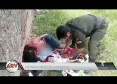 Policía Salva A Una Bebé De Una Madre Irresponsable