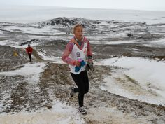 What an inspiration!! Winter wunderkind: 14-year-old is youngest ever to run marathons on all continents.