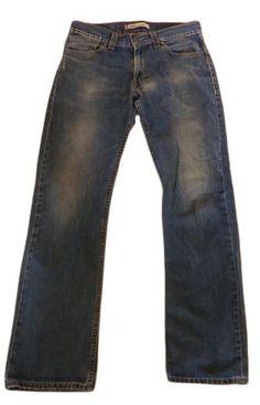 Jeans droit 506 LEVI'S W33 (T 42-44) bleu occasion bon état