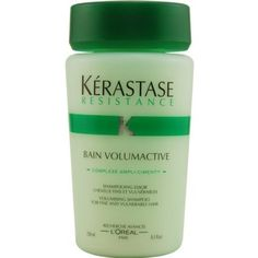 Kerastase Resistance Bain Volumactive Volumizing Shampoo For Fine, Vulnerable Hair, Ounce This hair shampoo has a patented formula that treats Best Hair Loss Shampoo, Hair Shampoo, Best Hair Loss Products, Beauty Products, Hair Transplant Women, Cosmetic Database, Biotin Hair Growth, Mens Shampoo, Hair Loss Cure