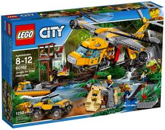 LEGO City 60162 : Jungle Air Drop Helicopter - Juin 2017