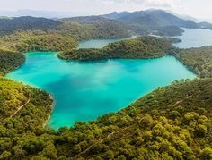 Mljet is the only single island that is a National Park. The most amazing thing about it is that there is lake on the island that has an even smaller island on it, which has a very nice and famous monastery. Take a boat tour to the island, and one more boat tour to the island on the island. #mljet #nacionalpark #dubrovnik #croatia #nature #explore #experience #travel