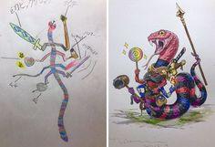Serpiente luchadora