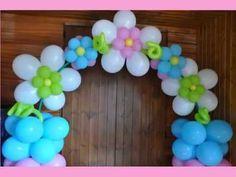 Curso de Globos Flor Fantasia - YouTube