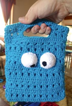 Cookie Monster Crochet Bag: Adventures of a Subversive Reader