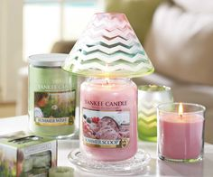 Remind Mom of your favorite summer memories together this Mother's Day. Click the candle to shop Summer Scoop online today