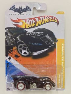 hot wheels super treasure hunt batman batmobile arkham origins 2013 rare - Rare Hot Wheels Cars 2013