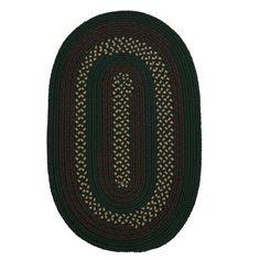 Darby Home Co Omaha Hunter Green Indoor/Outdoor Area Rug Rug Size: Runner 2' x 12'