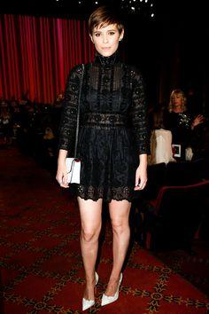 Kate Mara  Le premier rang du défilé Marc Jacobs