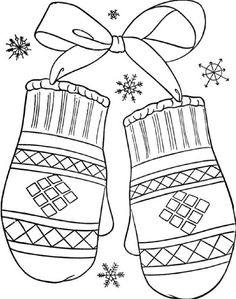 Winter coloring pages – Winter Mittens 12 Make your world more colorful with free printable coloring pages from italks. Our free coloring pages for adults and kids. Coloring Pages Winter, Printable Christmas Coloring Pages, Preschool Coloring Pages, Animal Coloring Pages, Coloring Pages To Print, Free Printable Coloring Pages, Coloring Book Pages, Coloring Pages For Kids, Coloring Sheets