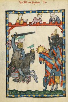 Codex Manesse - Goesli von Ehenheim.