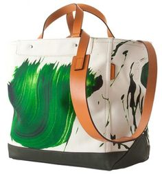 Love this tote bag, its Coach by New York based artist James Nares. handbags