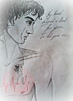 """""""Κι απ' το γλυκόπικρο το δάκρυ, αγαπημένη, λευτερώθηκες, Έφτασες ως τη καρδιά μου κι ανάμεσα στους χτύπους χώθηκες..."""""""